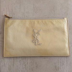 Authentic YSL Yves Saint Laurent Patent Clutch Bag